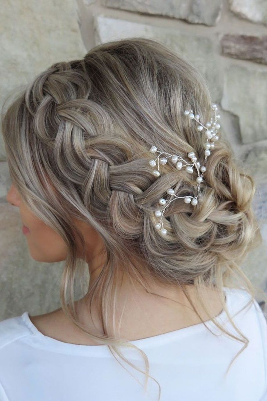 Simpe But Classy Bridal Hair Do 3 Fashion Best